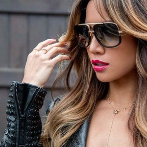 Square Oversized Fashion Sunglasses Black Women